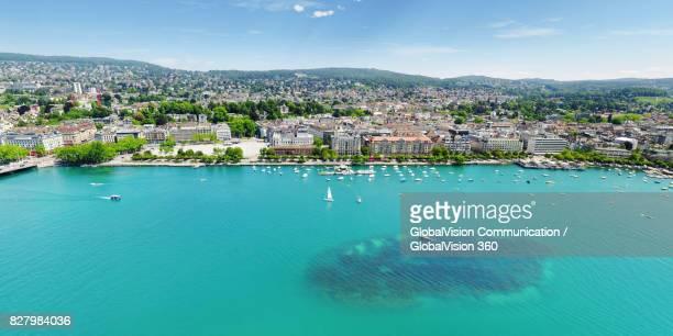 Summertime on Lake Zurich, Switzerland