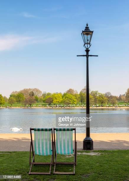 summertime - ロンドン ハイドパーク ストックフォトと画像