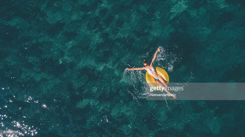 Summertime relaxation : Stock Photo