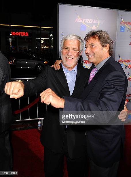 Summit Entertainment's CoChairman/CEO Rob Friedman and CoChairman/President Patrick Wachsberger arrive at the Los Angeles Premiere of 'Astro Boy'...