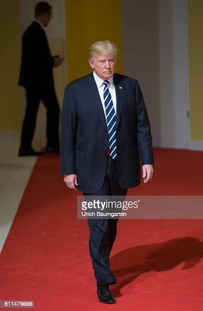 G20 summit in Hamburg Donald Trump President of the United States of America