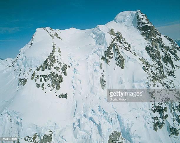 Summit of Mount McKinley, Denali National Park, Alaska, USA