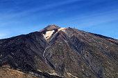 Summit of Mount Teide, Teide National Park, Tenerife, Canary Islands, Spain