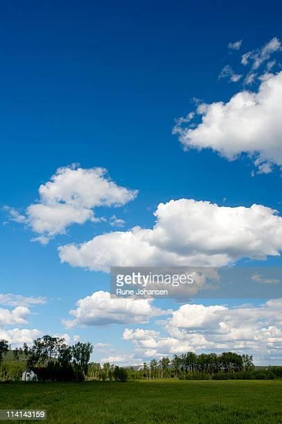 Summser sky in Børselv