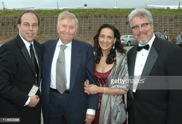 Sumner Redstone CEO of Viacom Larry Jones executive vice president/general manager of TV Land and guests