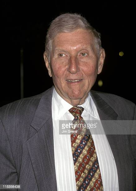 Sumner Redstone during Eye For An Eye Los Angeles Premiere Benefiting Natural Neurofibromatosis at Paramount Studios in Hollywood CA United States