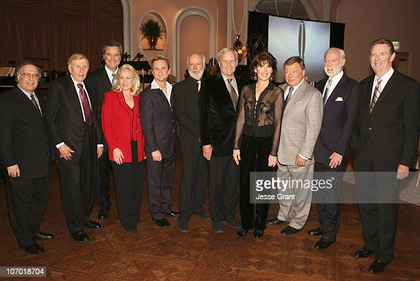 Sumner RedstoneSam Haskell Mary Haskell Sam Harris James Burrows Tom Brokaw Lucie Arnaz William Shatner Leonard Goldberg and Dick Askin