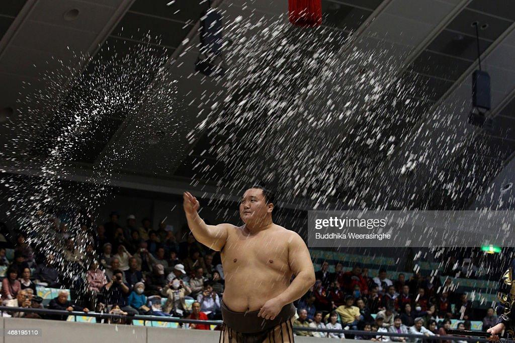 Sumo Tournament In Himeji