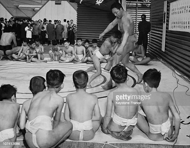Sumo Practice In Japan