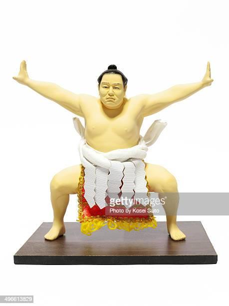 Sumo wrestler doll