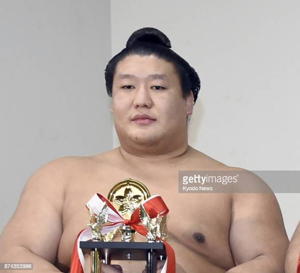 Sumo wrestler Takanoiwa seen in this photo taken on Jan 22 suffered serious injuries at the hands of grand champion Harumafuji in a drunken brawl in...