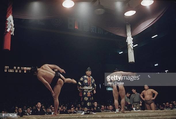 Sumo Wrestling Miscellaneous before match JPN 1/1/1959