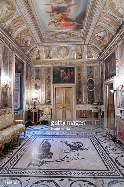 üppige barock-innengestaltung - barock stock-fotos und bilder
