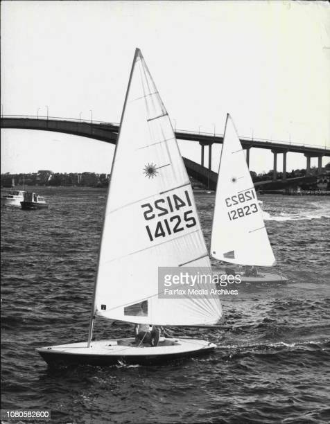 Sun 7 Sydney Boat Show 1974 the boats that are going to be on show at the Sun-7 Sydney Boat show on Aug 9 today, had a grand parade on the Parramatta...