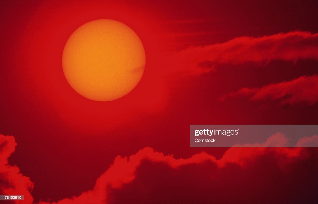 Sun and clouds : Stockfoto