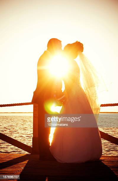 sun and love - wedding vows stock pictures, royalty-free photos & images