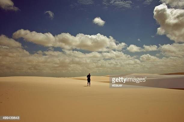 sun and sand - barreirinhas stock pictures, royalty-free photos & images