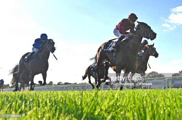 Sun Bear ridden by Robert Havlin wins The Free Tips Daily On attheracescom Maiden Stakes at Windsor Racecourse