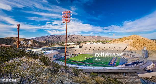 utep サンボールサッカースタジアムパノラマでエルパソ、テキサス州) - テキサス州エルパソ市 ストックフォトと画像
