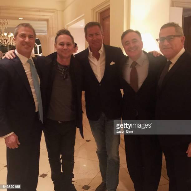 Sun Capital Partners Co-CEO Marc Leder, Jason Binn, HBO CEO Richard Plepler, Peninsula Beverly Hills Managing Director Offer Nissenbaum, Peninsula...