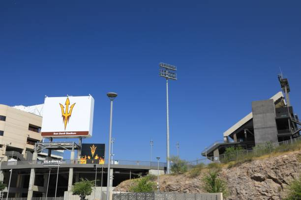 Sun Devil Stadium, Arizona State University in Tempe, Arizona,