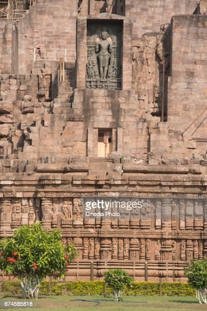 Sun god sculpture, sun temple, konark, orissa, india, asia
