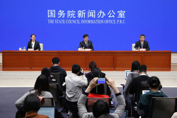 CHN: News Conference On The Government Work Report In Beijing