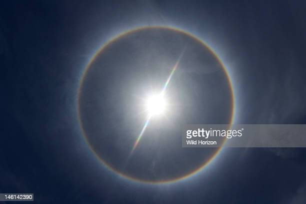Sun halo over Curacao Netherlands Antilles