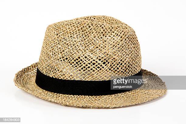 sun hat - straw hat stock pictures, royalty-free photos & images
