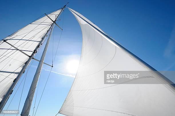 Sun in sails