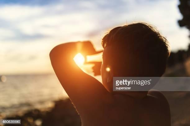 Sun in the frame
