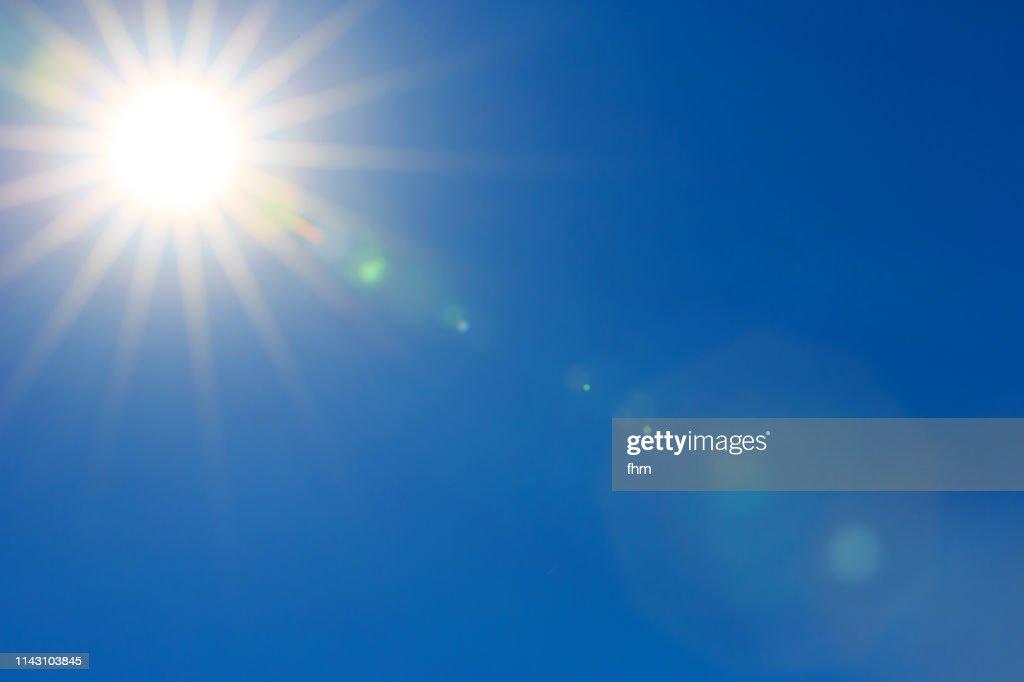 Sun in the sky : Stock-Foto