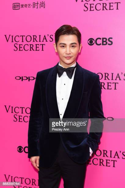 Sun Jian attends 2017 Victoria's Secret Fashion Show In Shanghai Pink Carpet Arrivals at MercedesBenz Arena on November 20 2017 in Shanghai China