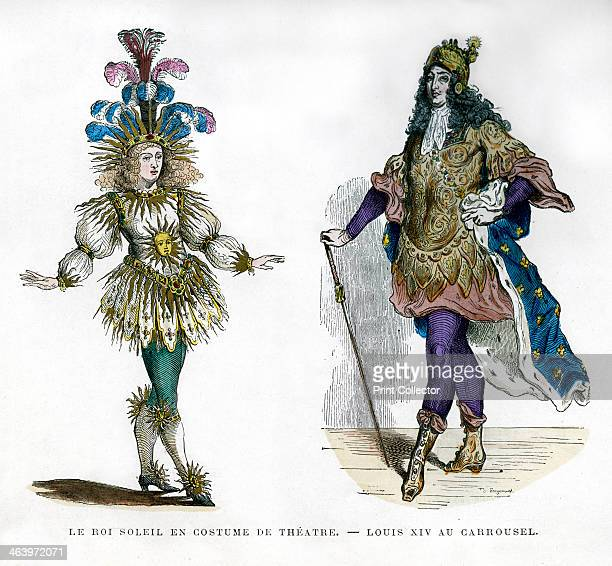 Sun King theatre costume and King Louis XIV of France 18821884 Although Louis inherited the French crown in 1643 he did not actually take the reigns...