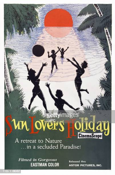 Sun Lovers Holiday poster US poster 1962