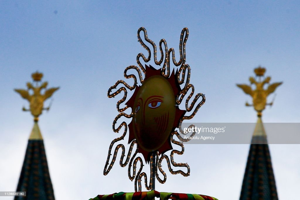 Maslenitsa festival in Moscow : News Photo