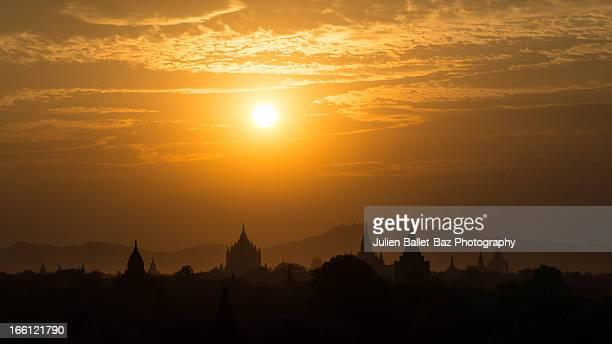 Sun over Bagan