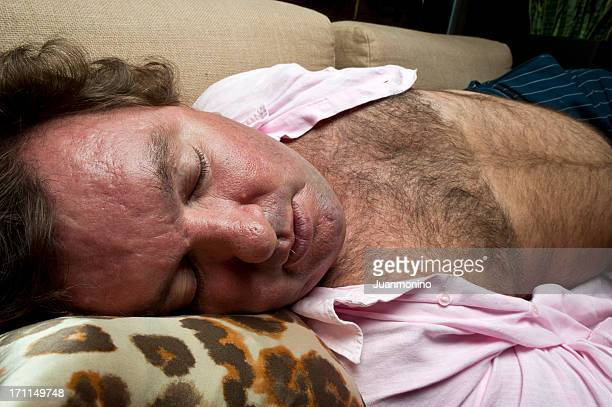 siesta - hairy man stock pictures, royalty-free photos & images