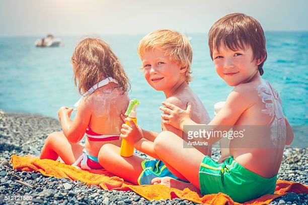 Sun protection on the beach