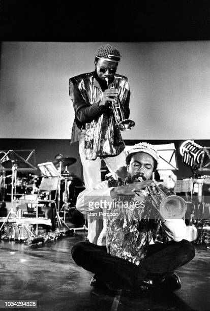 Sun Ra Arkestra Berliner Jazztage Berlin Germany November 1970 Here Kwame Hadi and Akh Tal Ebah
