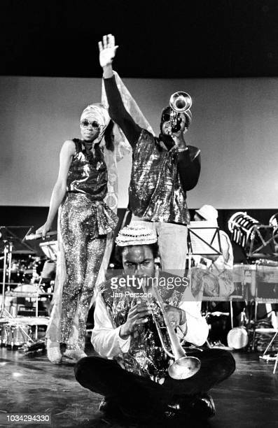 Sun Ra Arkestra Berliner Jazztage Berlin Germany November 1970 Here singer June Tyson Kwame Hadi and Akh Tal Ebah