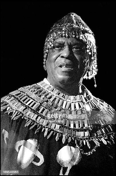 Sun Ra performing at The Venue London on 27 July 1982