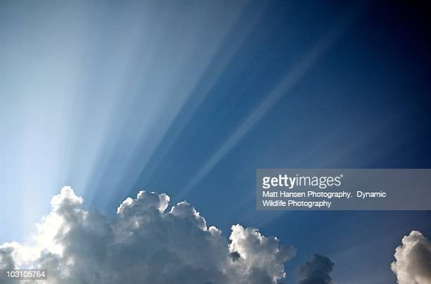 sun rays and cloud - midland michigan stock pictures, royalty-free photos & images