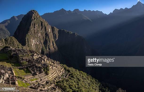 Sun Rise over Machu Picchu