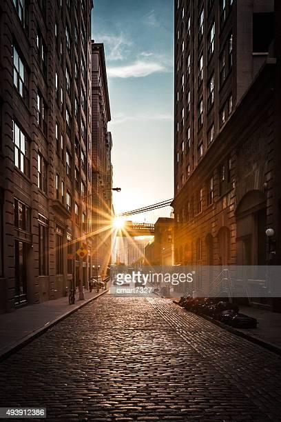 Sun Setting in DUMBO