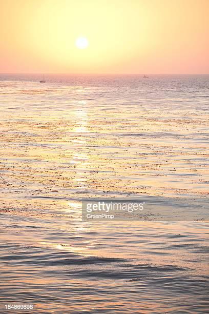Sun Setting Over Pacific