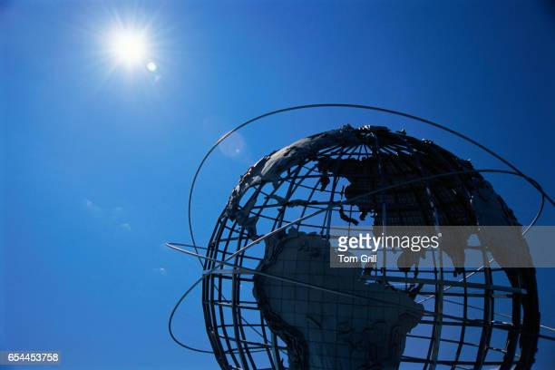 Sun Shining on Unisphere