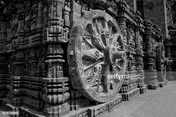 Sun Temple Chariot Wheel