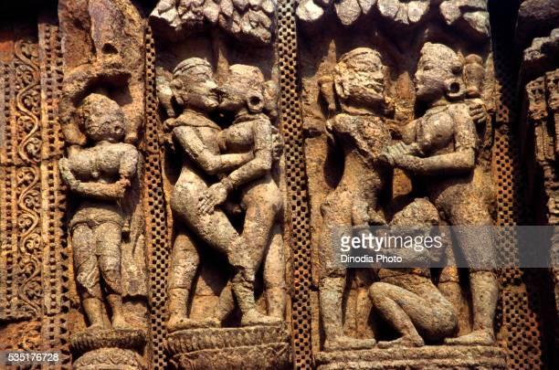 Sun Temple in Konark, Orissa, India