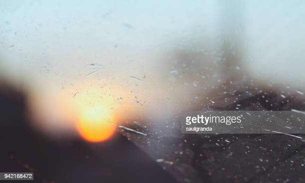 Sun through a glass